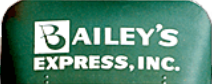 bailey's express tracking